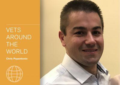 Vets around the world - Chris Papantonio